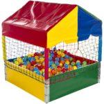 piscina de bolinhas premium medidas 1 10m x 1 10m acompanha 500 bolinhas top coloridas 150x150 - Aluguel de Brinquedos na Região Oceânica - M.M. Aluguel de Brinquedos.